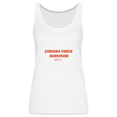 Corona Survivor - Women's Premium Tank Top