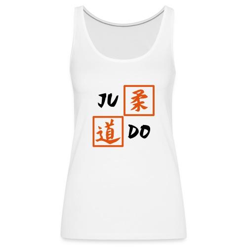 judo 2farbig - Frauen Premium Tank Top