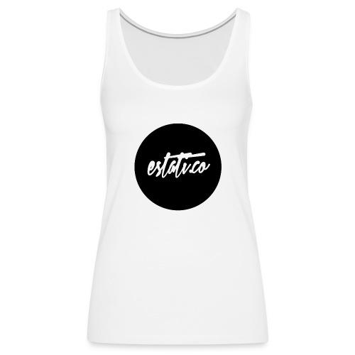 Taza blanca / punto - Camiseta de tirantes premium mujer