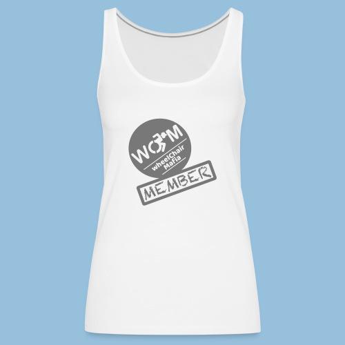 WheelChair Mafia member 001 - Vrouwen Premium tank top