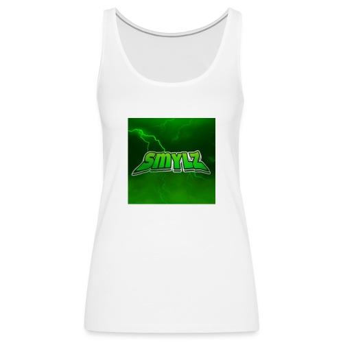 Lightning smylz logo - Premiumtanktopp dam