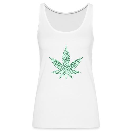 Marihuana Blatt Cannabis - Frauen Premium Tank Top