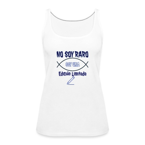 Edicion limitada - Camiseta de tirantes premium mujer