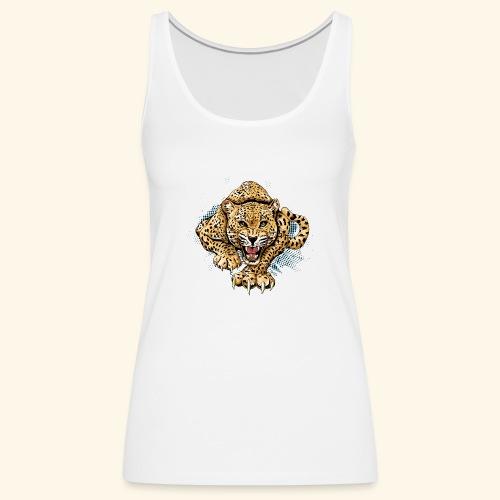 Leopardo KutuXa - Camiseta de tirantes premium mujer
