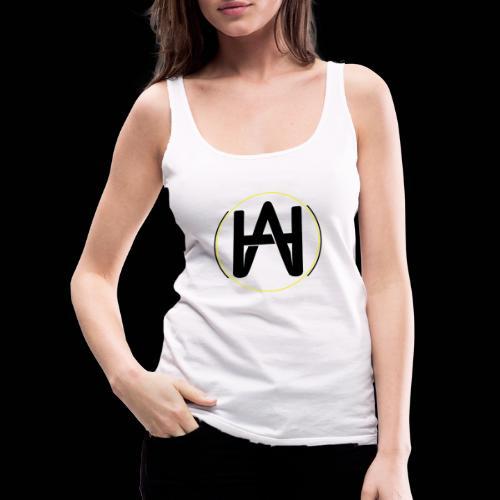 Hombre Alpha Logo Gold - Camiseta de tirantes premium mujer