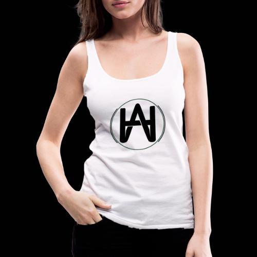 Hombre Alpha Logo Negro - Camiseta de tirantes premium mujer