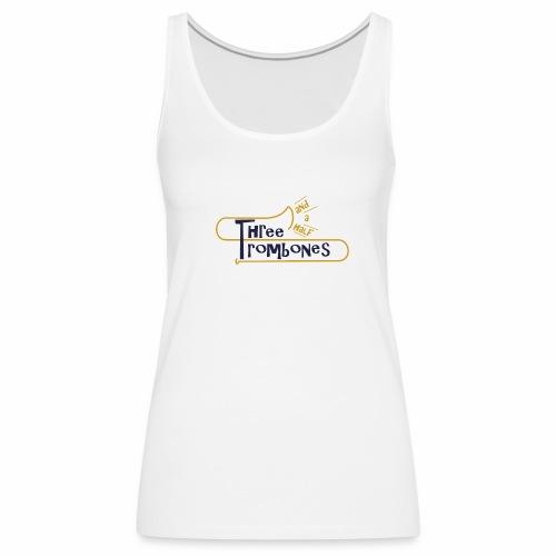 312 Trombones Logo Striche - Frauen Premium Tank Top