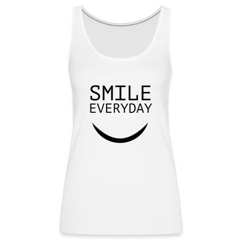 smile everyday - Frauen Premium Tank Top