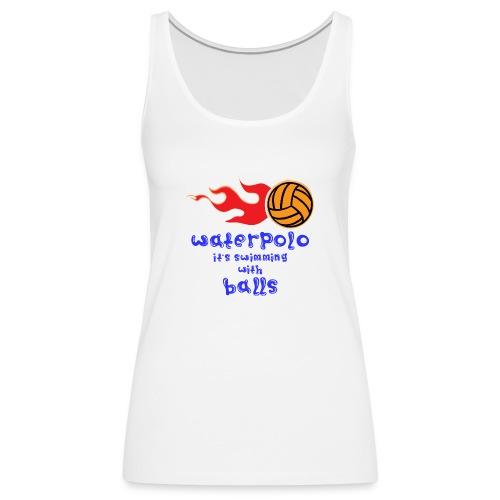 Waterpolo - Canotta premium da donna
