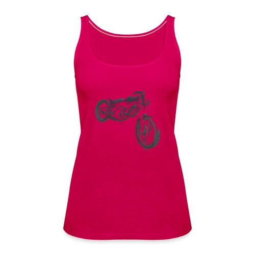 bike (Vio) - Women's Premium Tank Top