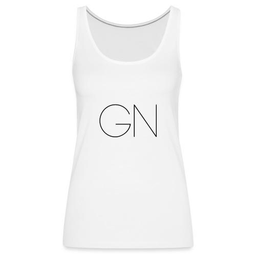 Långärmad tröja GN slim text - Premiumtanktopp dam