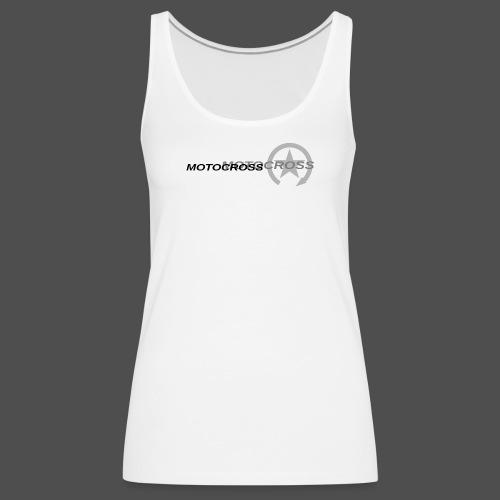 MOTOCROSS - Tank top damski Premium