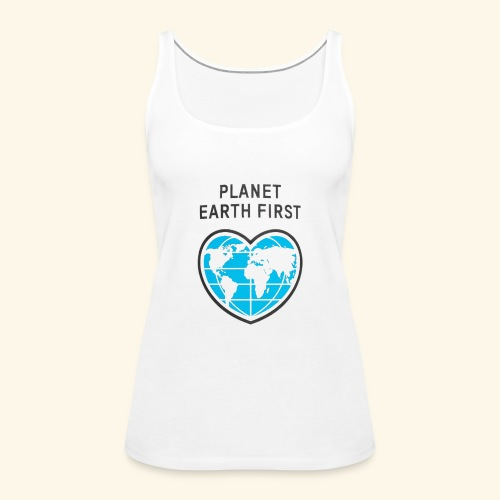PlanetFirst - Frauen Premium Tank Top