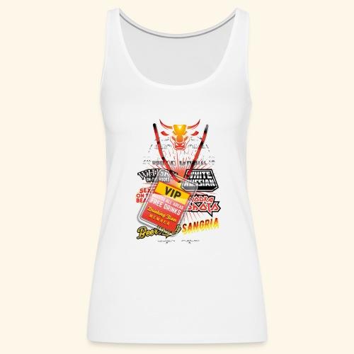 lustiges Sauftour-Shirt Booze Cruize - Frauen Premium Tank Top