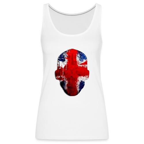Borg recordings uk Union flag MetaSkull T Shirt - Women's Premium Tank Top