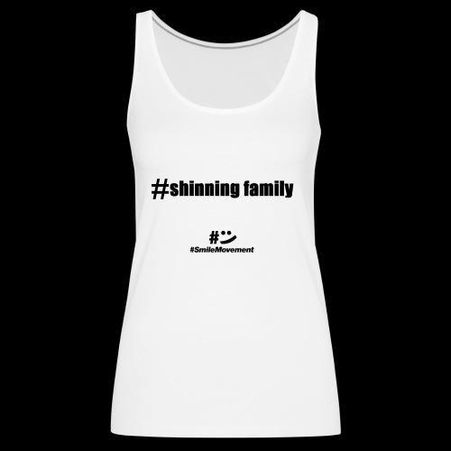 shinning family - Débardeur Premium Femme