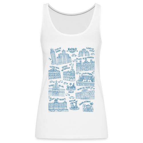 MADRID MONUMENTAL - Camiseta de tirantes premium mujer