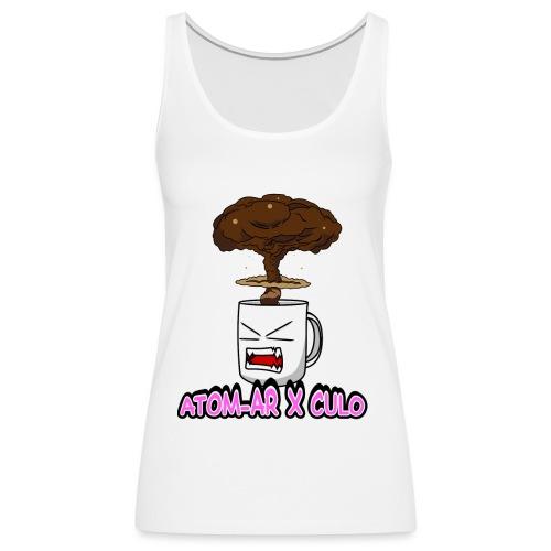 Atom Coffe - Camiseta de tirantes premium mujer