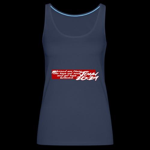OVER REASON 2 - Camiseta de tirantes premium mujer