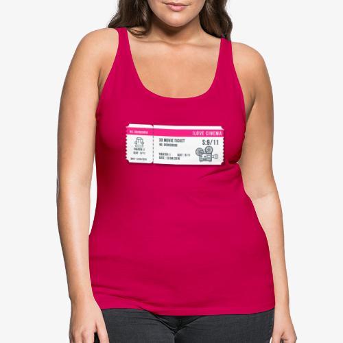 Cinema 2 - Camiseta de tirantes premium mujer