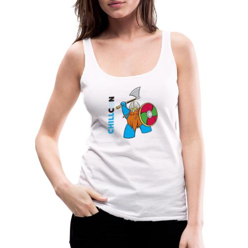 Viking Mascot - Colour - Women's Premium Tank Top