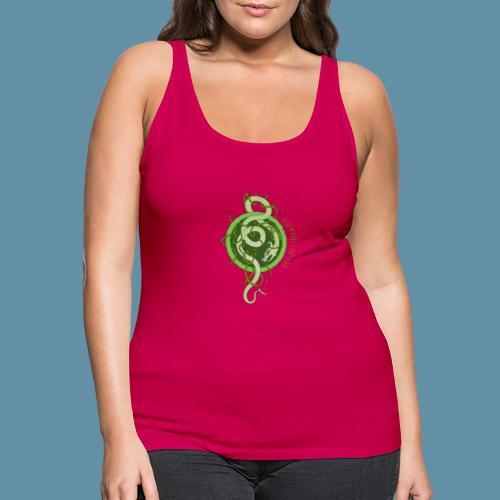 Jormungand logo png - Canotta premium da donna