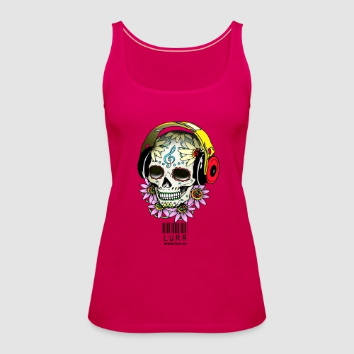smiling_skull - Women's Premium Tank Top