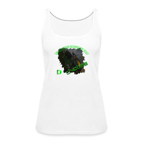 cleartlogotractor - Women's Premium Tank Top