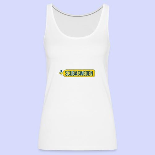 scubasweden logo - Premiumtanktopp dam