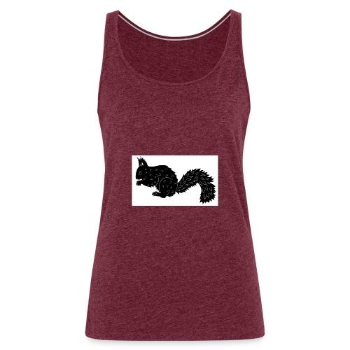 Squirrel - Women's Premium Tank Top