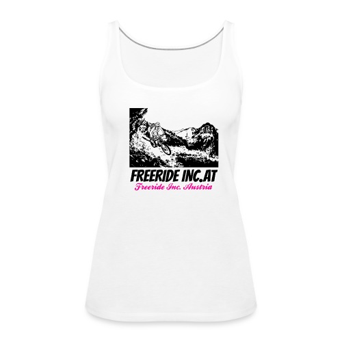 Mountainbikerin Freeride Inc. Austria Petra - Frauen Premium Tank Top