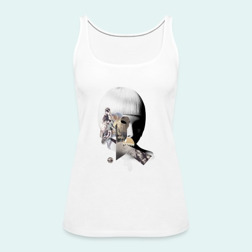 Change comes from within - Dame Premium tanktop