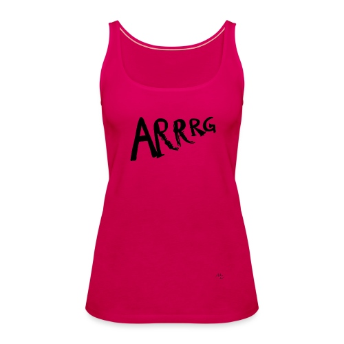Arrg - Canotta premium da donna