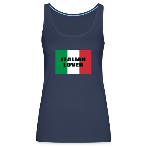 ITALIAN LOVER - Canotta premium da donna