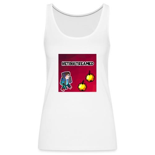 Logo kleding - Vrouwen Premium tank top