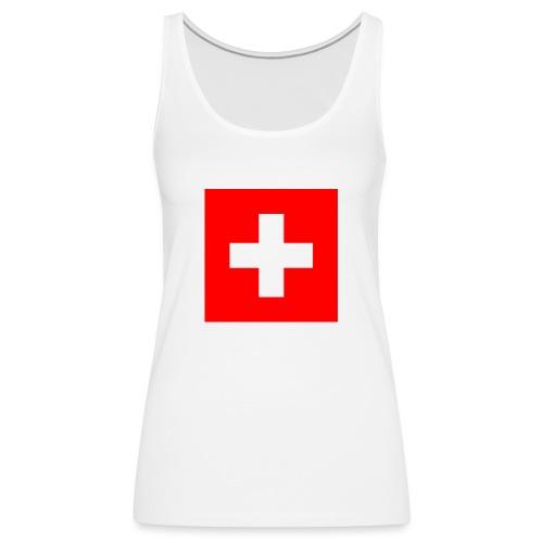 Swiss - Débardeur Premium Femme