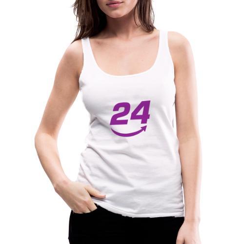 HorseDeal24 Logo Violett - Frauen Premium Tank Top