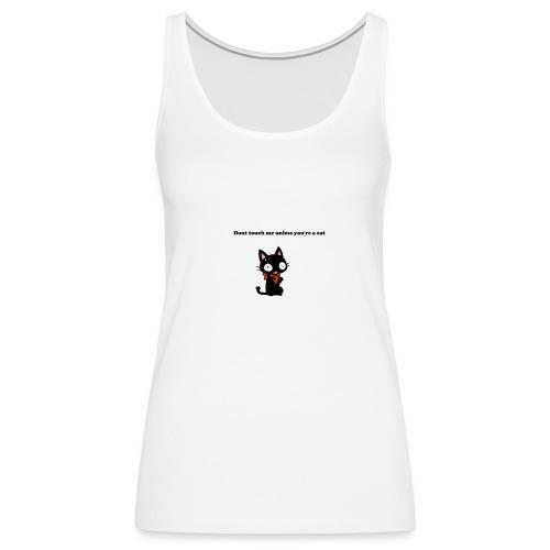 Imnotacat Tshirt - Premiumtanktopp dam