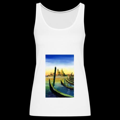 Venedig Sonnenuntergang. San Giorgio - Frauen Premium Tank Top