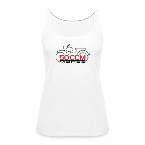 Moped Star 50 ccm Emblem - Women's Premium Tank Top