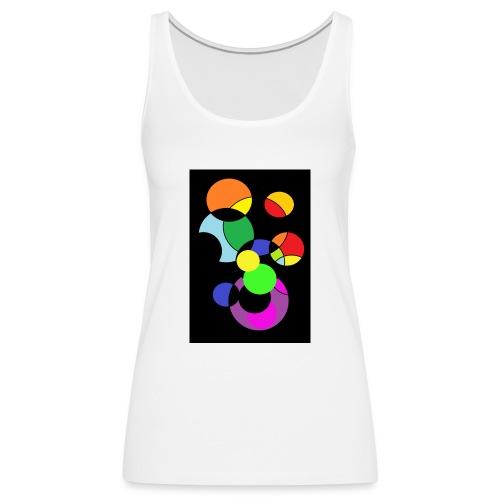 circles - Camiseta de tirantes premium mujer
