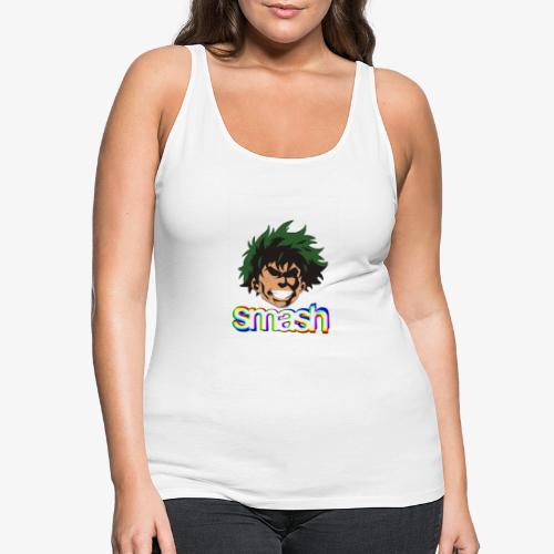 Izuku midoriya SMASH!! - Camiseta de tirantes premium mujer