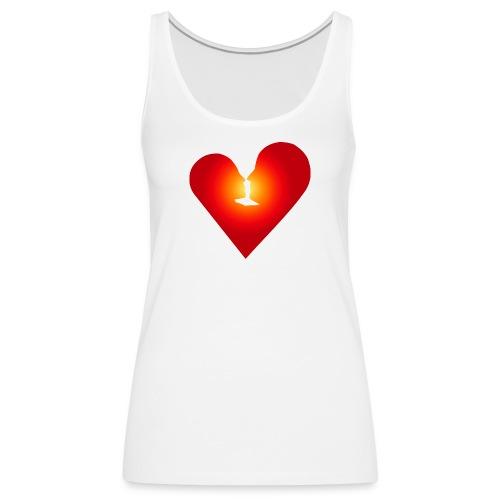 Ein Herz in Liebe - Frauen Premium Tank Top