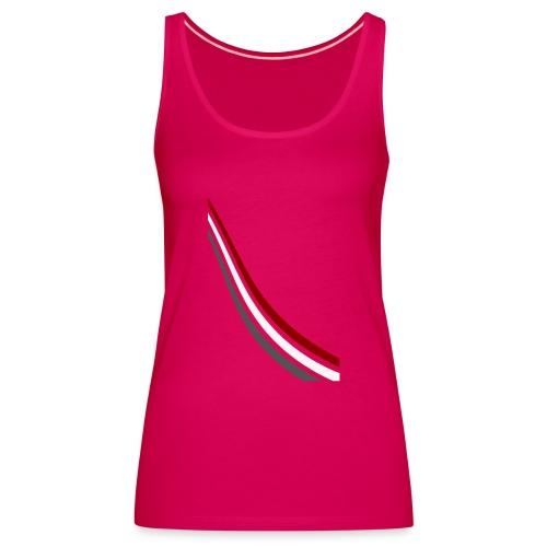 stripes shirt png - Vrouwen Premium tank top