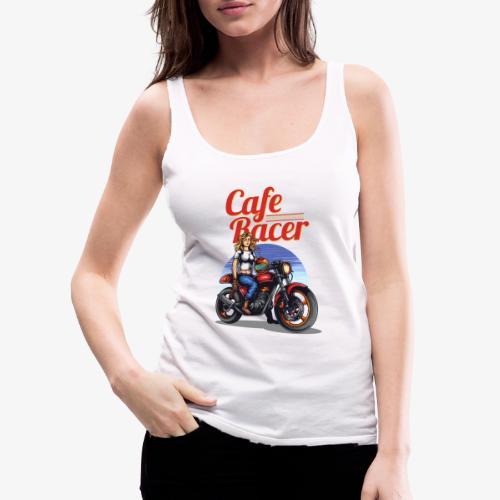Cafe Racer - Débardeur Premium Femme