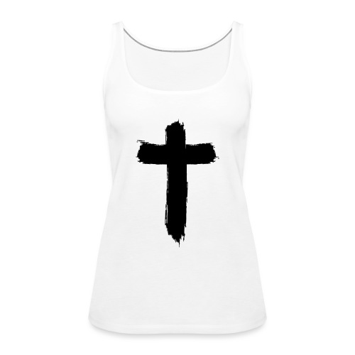 Brushed-Cross - Frauen Premium Tank Top