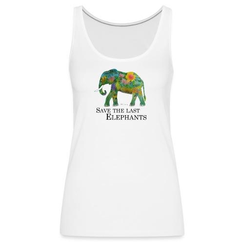 Save The Last Elephants - Frauen Premium Tank Top