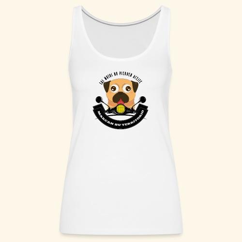 Territorio Perruno - Camiseta de tirantes premium mujer