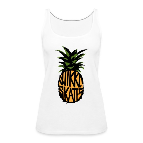 WS Pineapple - Women's Premium Tank Top