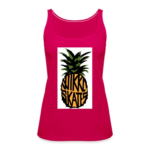 WS Pineapple - Women's Premium Tank Top